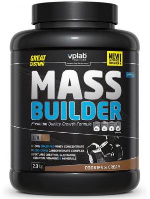Гейнер VPLab Mass Builder 2300 г Cookies & Cream