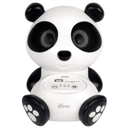 Магнитола Ritmix ST-550 Panda Белый, черный