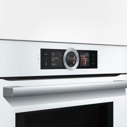 Встраиваемый электрический духовой шкаф Bosch HMG656RW1 White