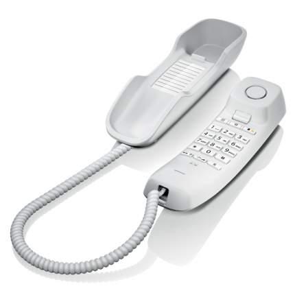 Телефон проводной Gigaset DA210 White