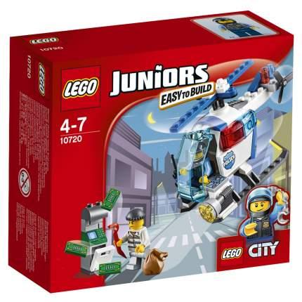 Конструктор LEGO Juniors Погоня на полицейском вертолёте (10720)