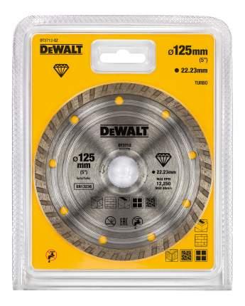 Диск отрезной алмазный универсальный DeWALT DT3712-QZ
