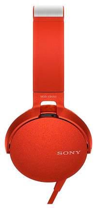 Наушники Sony MDR-XB550 Red