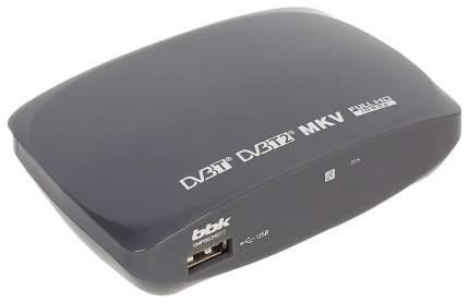 DVB-T2 приставка BBK SMP 002 HDT2 grey