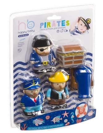 """Набор игрушек для ванной Happy Baby """"Пираты"""" 5 шт."""