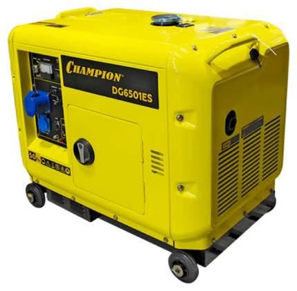 Генератор дизельный CHAMPION DG6501ES +ATS