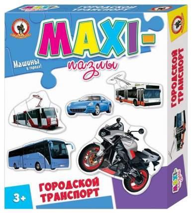Пазлы Русский стиль Макси пазлы Городской транспорт 03521