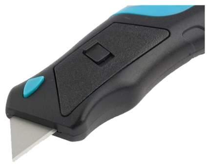 Нож,рем-монтаж,трехкомп, рукоятка,кнопочный авто выброс/возврат лезвияGROSS 78879