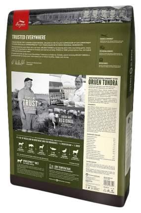 Сухой корм для кошек Orijen Tundra, дичь, 0,34кг
