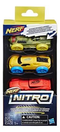 Набор пластиковых машинок NERF Нитро №5