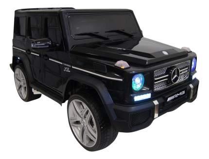 Электромобиль Mercedes-Benz черный RIVERTOYS