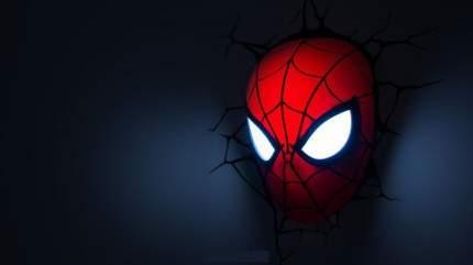 Настенный 3D cветильник 3DLightFX Spiderman Mask
