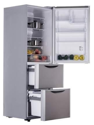 Холодильник Hitachi R-S 38 FPU INX Silver/Grey