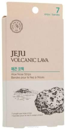 Полоски очищающие для носа The Face Shop Jeju Volcanic Lava Pore Clear Nose Strip 7 шт
