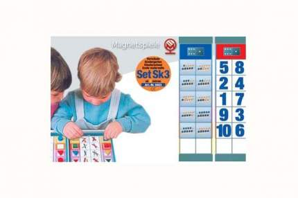 Набор заданий Magnetspiele Флокардс Цифры и счет