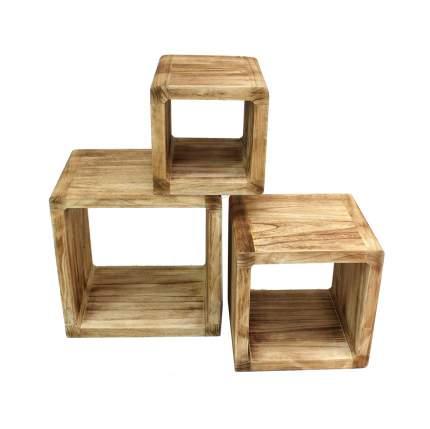 Полки-столики 'Кубы', 3шт
