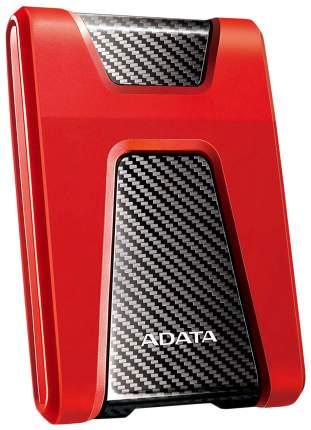 Внешний диск HDD ADATA DashDrive Durable 2TB Red/Black (AHD650-2TU31-CRD)