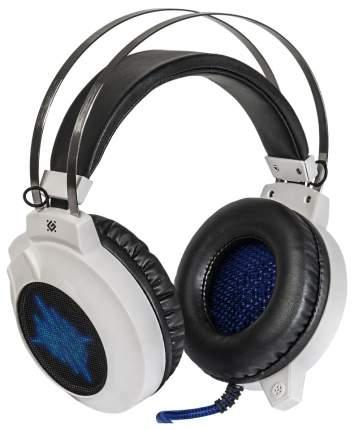 Игровые наушники Defender Icefall G-510D White/Blue/Black