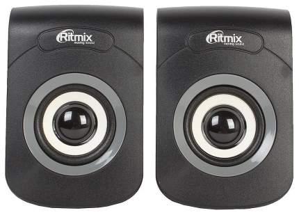 Колонки компьютерные RITMIX SP-2060 Black-Grey 2,0, 2x3 Вт, 20-18000 Гц, mini Jack, USB
