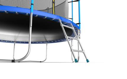 Батут Evo Fitness Jump Internal с сеткой и лестницей синий 366 см