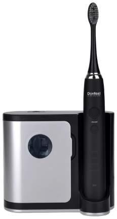 Электрическая зубная щетка Donfeel HSD-010 ультразвуковая аккумуляторная (+3 насадки)