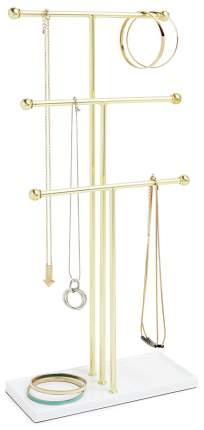 Подставка для украшений Umbra 299330-524 Золотой, белый