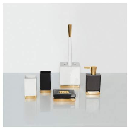 Дозатор для мыла Spirella Roma Белый/Золотой