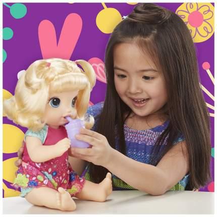Кукла Хасбро Baby Alive Танцующая Малышка Блондинка E0609RS0