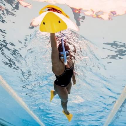 Доска для плавания Finis Alignment Kickboard 1.05.042 желтая