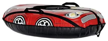 Тюбинг Тяни-Толкай овальный машинка comfort красная