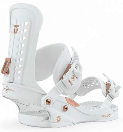 Крепления для сноуборда Union Trilogy 2020, белые, S