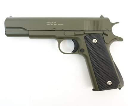 Страйкбольный пружинный пистолет Galaxy  Китай (кал. 6 мм) G.13G (зеленый)