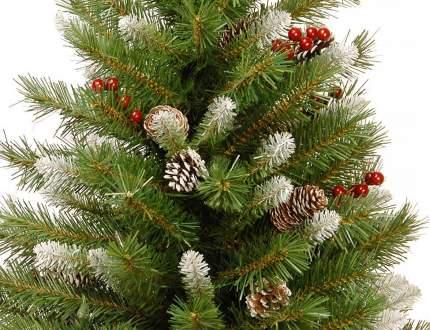 Ель искусственная National Tree Company зимняя ягодка 122 см