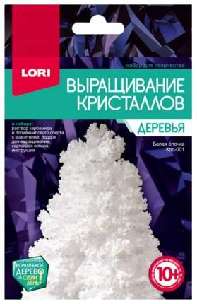 LORI Набор для выращивания кристаллов Деревья. Белая ёлочка Крд-001