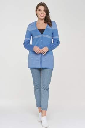 Жакет женский VAY 191-1602 голубой 46 RU