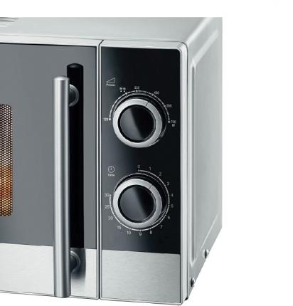 Микроволновая печь соло Kraft KF20MW7S-200M Silver