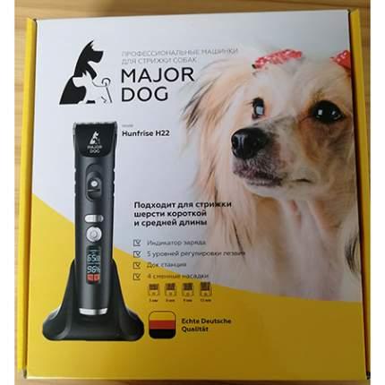 Машинка для стрижки домашних животных Major Dog Hunfrise H22, керамика, черная, 10 Вт