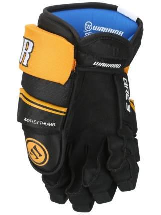 Перчатки хоккейные Warrior QRE3, 11 оранжевые/черные