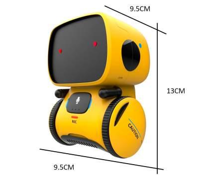 Робот-игрушка ZDK для изучения английского языка English Z-bot Z9 желтый