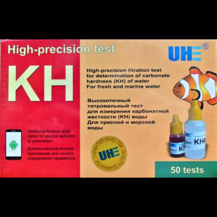Тест для измерения карбонатной жесткости в любой воде UHE KH test