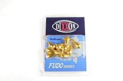 Набор мормышек вольфрамовых Dixxon-Rus капля + шар с ушком, S, золото