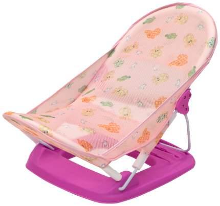 Горка для купания малыша FunKids Baby Bather Delux розовый