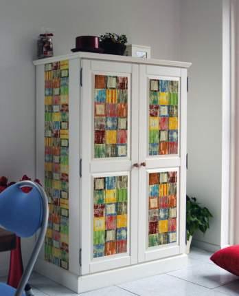 Пленка самоклеющаяся D-C-fix 3177-200 Декор Цветные квадраты  15х0.45м