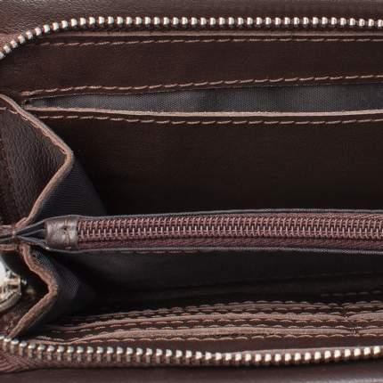 Клатч мужской кожаный Lakestone Crispin коричневый