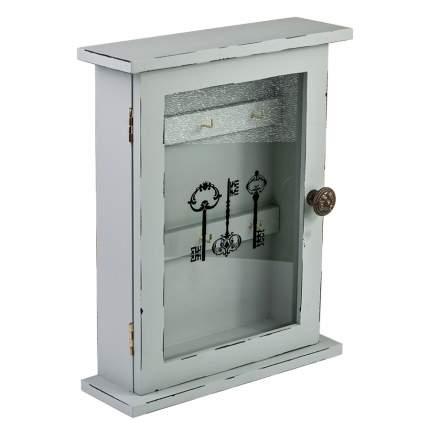 ML-4725 Ключница со стеклянной дверцей (21x6.5x26.4 см.) /12