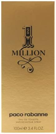 Туалетная вода Paco Rabanne 1 Million 100 мл
