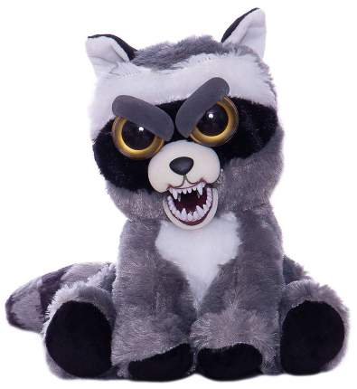 Мягкая игрушка Abtoys Енот серый Feisty pets 22 см