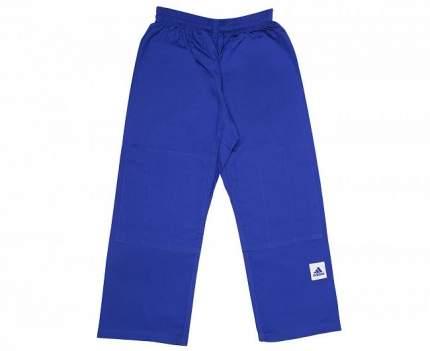Кимоно для дзюдо подростковое Adidas Training синее 150 см