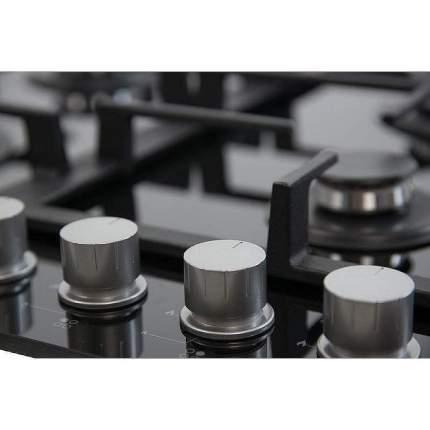 Встраиваемая варочная панель газовая Monsher MKFG 60827B01 Black