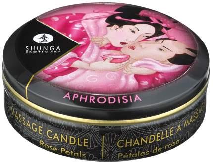 Массажная свеча Shunga Rose Petals с ароматом розы 30 мл